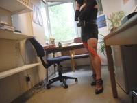 minijupe noir guepierre noir 47