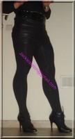 minijupe noir similie cuir 14