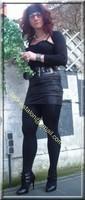 minijupe noir similie cuir 22