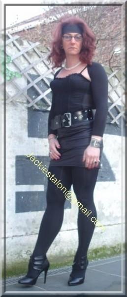 minijupe noir similie cuir 31