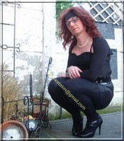 minijupe noir similie cuir 34