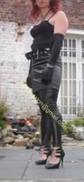 Legging similie cuir et jupe cuir 7