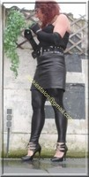 Legging similie cuir et jupe cuir 19