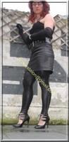 Legging similie cuir et jupe cuir 27