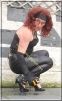 Legging similie cuir et jupe cuir 73