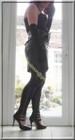 Legging similie cuir et jupe cuir 81 visage blog