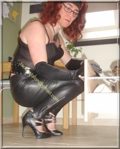 Legging similie cuir et jupe cuir 84 visage blog