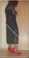 jupe cuir corset noir 23