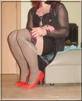 jupe cuir corset noir 26