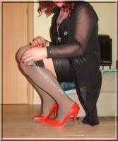 jupe cuir corset noir 27