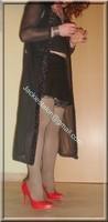 jupe cuir corset noir 47