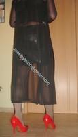 jupe cuir corset noir 51