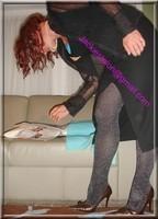 robe noir collant brillant 29