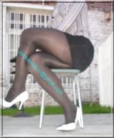 jupe daim noir 2