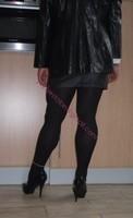 minijupe cuir veste cuir 7
