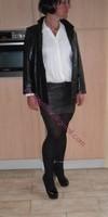minijupe cuir veste cuir 15