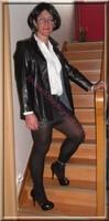 minijupe cuir veste cuir 19