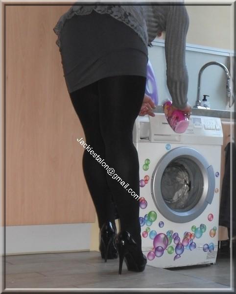 minijupe grise blouse grise 35