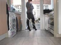 minijupe grise blouse grise 133