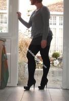 minijupe grise blouse grise 159