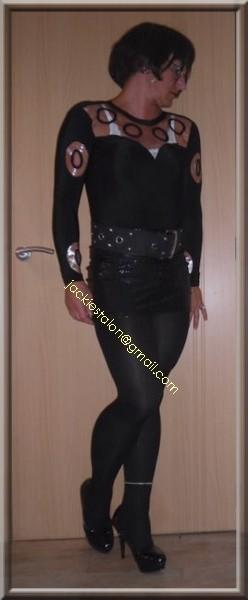 jupe noir a pailettes 9