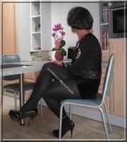 jupe noir a pailettes 16