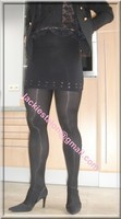 Minijupe noir 2