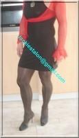 robe noir sexy