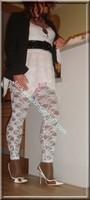 robe blanche collants dentelle 23