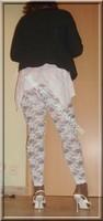 robe blanche collants dentelle 19