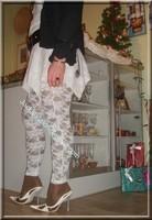 robe blanche collants dentelle 26