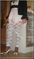 robe blanche collants dentelle 24