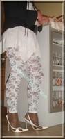 robe blanche collants dentelle 28