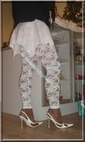 robe blanche collants dentelle 29