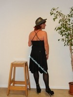 robe noir Laula paris 40