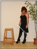 robe noir Laula paris 36