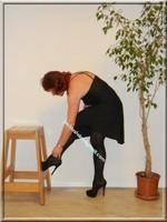robe noir Laula paris 37