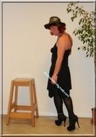 robe noir Laula paris 39