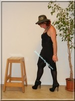 robe noir Laula paris 44