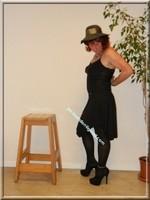 robe noir Laula paris 43