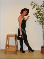 robe noir Laula paris 50