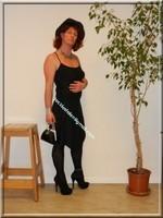 robe noir Laula paris 46