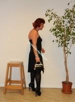 robe noir Laula paris 47