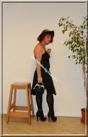 robe noir Laula paris 48