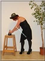 robe noir Laula paris 55
