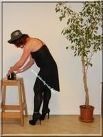 robe noir Laula paris 54