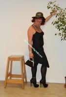 robe noir Laula paris 53