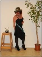 robe noir Laula paris 56