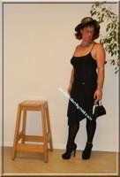 robe noir Laula paris 59