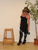 robe noir Laula paris 61